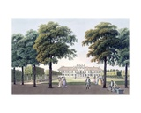 View of the Chateau of Pleasure at Hetzendorf, Vienna, 1790s Giclee Print by Laurenz Janscha