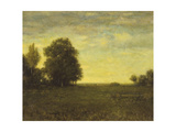 A Meadow with Trees Giclee Print by Alexander Helwig Wyant