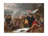 George Washington at Valley Forge, Preliminary Sketch, 1854 Giclee Print by Tompkins Harrison Matteson