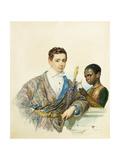 Portrait of Anatole Demidoff Giclee Print by Karl Pavlovich Briullov