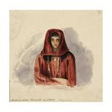 Mahomedan Female of Shoa, Abyssinia, 1842 Giclee Print by Rupert Kirk