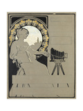 Design for a Camera Advertisement Giclee Print by Walter Bonner Gash