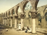 Ancient Mosque, Baalbek, C.1880-1900 Photographic Print