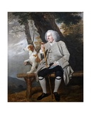 Andrew Drummond, C.1750 Giclee Print by Johann Zoffany
