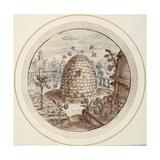 Crispin I De Passe - Beehive, Early 17th Century - Giclee Baskı