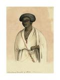 Christian Female of Shoa, Abyssinia, 1842 Giclee Print by Rupert Kirk