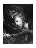 Judas, C.1880-1900 Impressão giclée por Gabriel Max