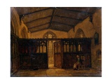 St. Mary's Chapel, Chichester Giclee Print by Richard Henry Nibbs