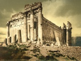 Temple of Bacchus, Baalbek, C.1880-1900 Photographic Print