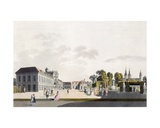 View of the Palace and Gardens Owned by the Prince of Kaunitz, Vienna Giclee Print by Laurenz Janscha