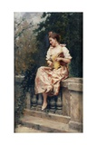 Girl with Flute, C.1895 Giclee Print by Ricardo de Madrazo y Garreta
