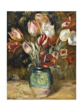 Vase of Flowers, 1888-89 Giclee Print by Pierre-Auguste Renoir