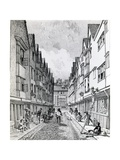 Winchester Street, London Wall, Published 1814 Giclee Print by John Thomas Smith