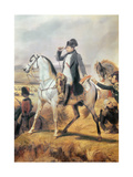 Detail of Napoleon from the Battle of Wagram, 6th July 1809, 1836 Giclee Print by Horace Vernet