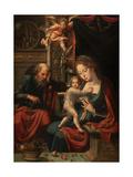 Holy Family Giclee Print by Pieter Coecke van Aelst