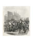 George Iv's State Visit to Ireland, August 12th 1821, from 'The History of Ireland' by Thomas… Giclee Print by Henry Warren