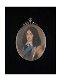 Portrait of King Charles II Giclee Print by David Des Granges