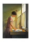 Washing Up, C.1924-25 Giclee Print by Walter Bonner Gash