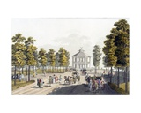The Summerhouse at Prater, Vienna, 1792 Giclee Print by Johann Ziegler