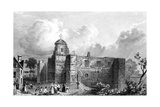 Colchester Castle, Essex, Engraved by John Carr Armytage, 1832 Giclee Print by William Henry Bartlett