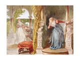 sigh No More, Ladies, Sigh No More', 1890 Giclee Print by Sir John Gilbert