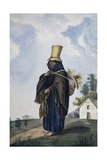 An Indian Fishwoman, 1840 Giclee Print by Joseph Brown