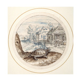 Tortoise, Early 17th Century Giclee Print by Crispin I De Passe
