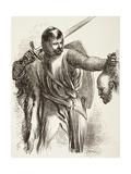 The Bastard with Austria's Head, 1890 Giclee Print by Sir John Gilbert