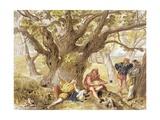 As You Like It, 1890 Giclee Print by Sir John Gilbert