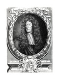 Sir Roger L'Estrange, Engraved by Robert White, 1684 Giclee Print by Sir Godfrey Kneller