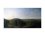 View of Belvoir Castle, 1744 Giclee Print by Jan the Younger Griffier