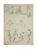 Group of Sketches, 1851 Giclee Print by Thomas Baines