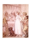 A Gin Shop, C.1808-09 Giclee Print by Thomas Rowlandson