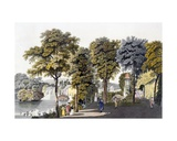 View of the Park at Neu-Waldeg, Dornbach, Vienna, 1792 Giclee Print by Laurenz Janscha