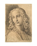 Head of a Woman, from 42 Studies of Heads after Raphael Giclee Print by Paolo Fidanza
