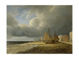 Worthing Beach, 1827 Giclee Print by James Arthur O'Connor
