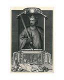 Edward I Giclée-Druck von George Vertue