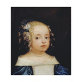 Head of a Girl, Early 1660s Giclee Print by Isaac Fuller