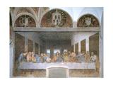 The Last Supper, 1495-97 Giclée-tryk af Leonardo da Vinci