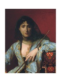 Veiled Circassian Beauty, 1876 Giclee Print by Jean Leon Gerome