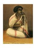 Mrs Shonkoor Ano'Olalla, 1842 Giclee Print by Rupert Kirk