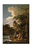 The Flight into Egypt Giclee Print by Adam Colonia