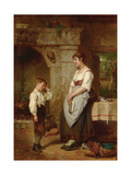 The Lesson, 1887 Giclee Print by Leon Caille