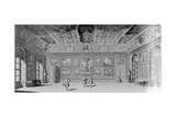 Picture Gallery at Belvedere, Vienna, Published in 'Wondrous War and Victory Encampment of the… Giclee Print by Salomon Kleiner