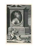 King Stephen Giclee Print by George Vertue