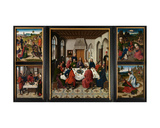 The Altarpiece of the Holy Sacrament, C.1464-68 Giclee Print by Dirck Bouts