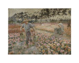 The Gardener Giclee Print by Jenny Montigny