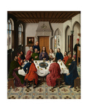 Detail of the Triptych of the Last Supper, from the Altarpiece of the Holy Sacrament, C.1464-68 Giclee Print by Dirck Bouts