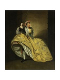 David Garrick as John Brute in the 'Provok'D Wife' by Vanbrugh, Drury Lane, 1763 Giclee Print by Johann Zoffany