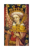 Principalities, One of the Nine Orders of Angels, Superior Hierarchy, Detail of the Rood Screen,… Giclee Print